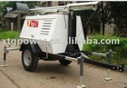 ATON 8~11KW Water-Cooled Diesel Generator Mobile Tower