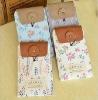 Japan style 2012 fashion idyllic landscapes pu plain mobile phone case