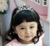 2013 new arrival crystal child crown