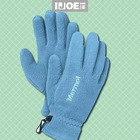 polar fleece glove with embroidery