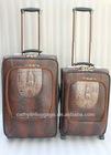 PU luggage set