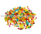 colorful fruit jelly bean