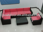modern leisure outdoor garden rattan sofa set