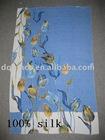 100% Silk Scarf -2011 brand designer silk oblong scarf (beach towel)