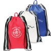 reflective promotional drawstring backpack drawsring bag