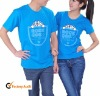 Couple's fashion personalized cotton T-shirt