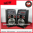 "8""active wooden best hi-fi active stage speaker system"