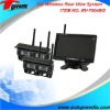 RV-7004WS 7inch wireless camera system with 4CH display switch & CMOS/CCD camera