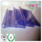 Extrusion plastic price tag holder for market