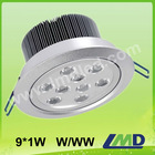 9*1W led sensor down light