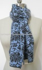 Ladies' 100%cashmere knitted scarf