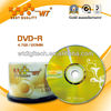 DVD-R 16X 4.7gb 120min gold color