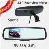 3.5 inch original rear view mirror