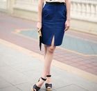 2012 fashion summer women open fork short sexy skirt for women in summer