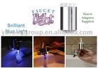 Color change led faucet light