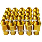 Bolts light wheel racing lug nuts gold