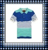 Summer new arrival men polo shirts short sleeve with oceanic wind 12MS03