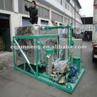 china ZSC used car engine oil purifier/recycling plant