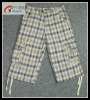 fashion plaid pants for men ,