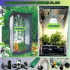 Garden Green Houses Hydroponics Systems Mylar Grow Tent / Plant Growing Tent