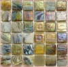 6mm Crystal Iridescent Tile glass mosaic Sheet