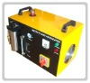 Flame polishing machine