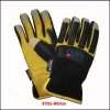 Highly Visible Fingerless Utility Safety Glove