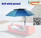 outdoor anti wind parasol