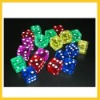 18mm casino transparent dice