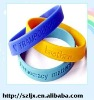 Hot selling promotional silicone rubber wristband