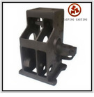 cast iron gear box ductile iron gg40