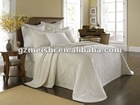 luxury 4pcs bed sheet set/printed bedspread set