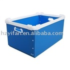2012 new style transport plastic corrugated box storage circulation box plastic packing box(YF7051)