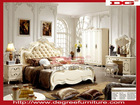 Royal Luxury European Wood Carving Bedroom Furniture 901#
