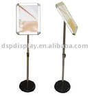A4 aluminum snap frame poster stand