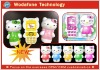 new mobile phone 2012 The world's first Lovely KITTY cat Personality Fashion mobile phone