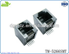 good quality RJ11 SMT connector with 180 degree