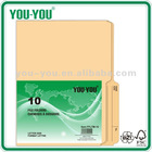 Manila file folder letterl size 10pcs/pk binder