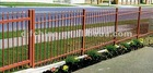 steel aluminum fence for mailing , 1.6meter heigh , 2 meters width