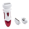 Rechargeable 3 in 1 lady' epilator set with epilator ,clipper and shaver function