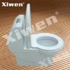 Siphonic one-piece closet marble toilet