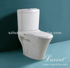 Washdown two piece toilet Peru Colombia hot sale toilet