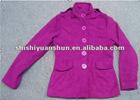 Fashion lady fake wool jacket