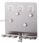 Stainless Steel Memo Board with Magnetic Sticker