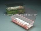 Simple style plastic chopsticks box