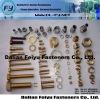 High quality environmental brass fashion belt fastener
