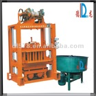 QT4-40 low investment high profit manual brick making machine