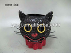 new! Halloween cat candle holder