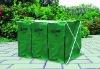Garden leaf collection composter bins