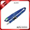 blue custom printed neck lanyards fro conference
